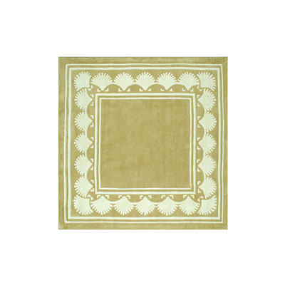 Nejad Rugs Shell Border 5 Square SAND AT038 SD
