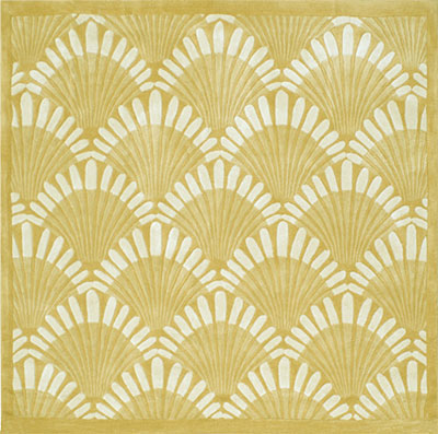 Nejad Rugs Shells Nouveau 6 Square Sand AT072 SD