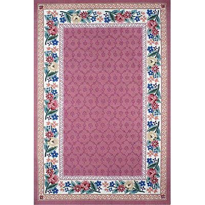 Nejad Rugs Bucks County - Damask 2 x 3 Rose/Ivory 1009IYRS