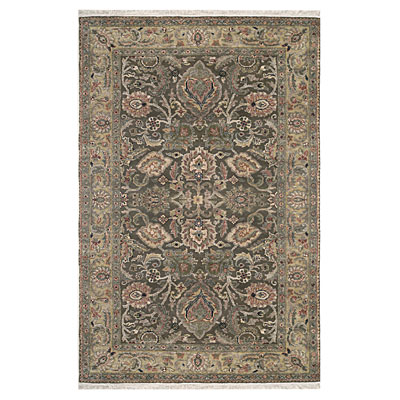 Nejad Rugs Couture 5 x 7 Textured Agra Brown/Beige M066 BNBG