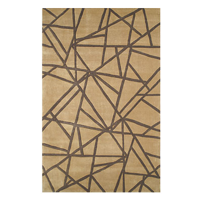 Nejad Rugs Connected 5 x 8 Gold/Brown CC012 GOBN
