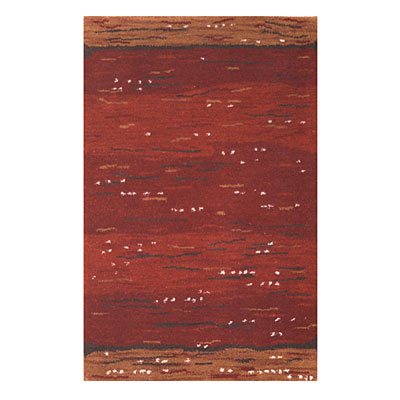Nejad Rugs Earth Valley 4 x 6 RUST CC002 RT