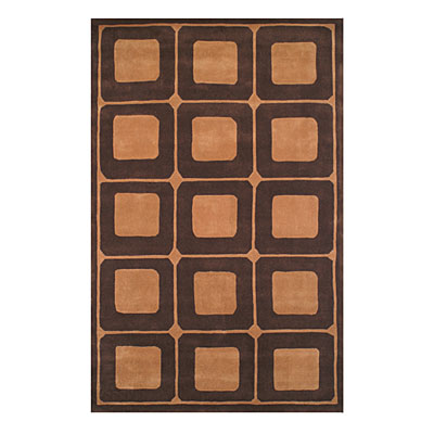 Nejad Rugs Le Square 4 X 6 BROWNBERRY/CAMEL ML061 BNCM