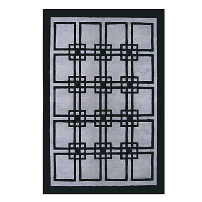 Nejad Rugs Omni 4 X 6 GREY/BLACK AT060 GYBK