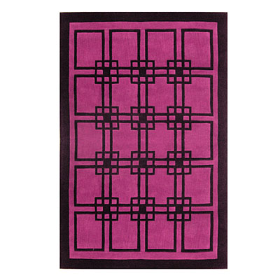 Nejad Rugs Omni 8 X 11 PURPLE/BLACK AT060 PRBK
