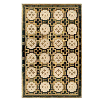 Nejad Rugs Empire 6 X 9 GOLD/BLACK INN001GOBK