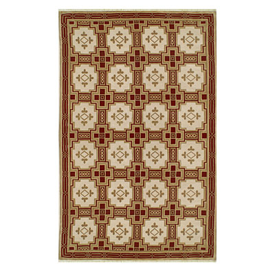 Nejad Rugs Empire 4 x 6 GOLD/BURGUNDY INN001GOBR