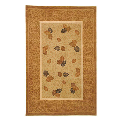 Nejad Rugs Golden Leaves 5 x 8 Pale Sage/Gold NN013SAGO