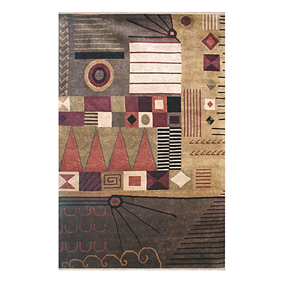 Nejad Rugs Metro 4 X 6 GOLD/BROWNS INN03GOMT