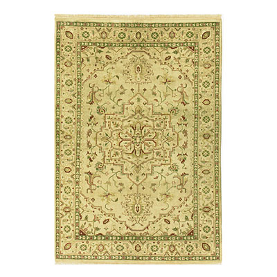 Nejad Rugs Signature Heirloom 6 X 9 Serapi Gold/Gold M004 GOGO