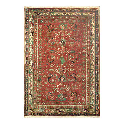 Nejad Rugs Signature Heirloom 6 X 9 Pepperdil Rust/Ivory M007 RTIY