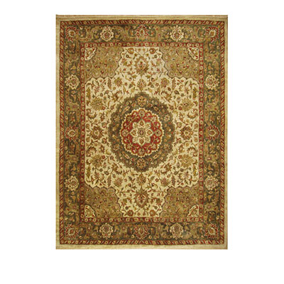 Nejad Rugs Signature Heirloom 10 x 14 Tabriz Med Antique Ivory/Sage M036 AISA