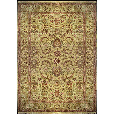 Nejad Rugs Signature Heirloom 10 x 14 Ushak Gold M062 GOGO