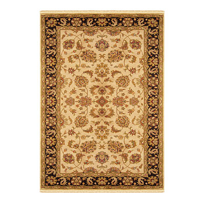 Nejad Rugs Signature Legacy 4x6 Agra Antique Ivory/Black M086 AIBK
