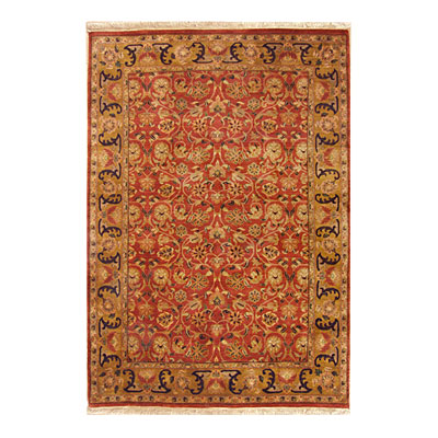 Nejad Rugs Signature Masterpiece 3 X 5 Arts & Crafts Rust/Gold M030 RTGO