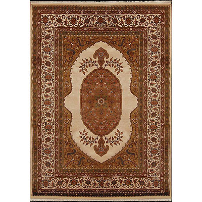 Nejad Rugs Signature Masterpiece 10 X 14 Mohtesham Antique Ivory/Antique Ivory M031 AIAI
