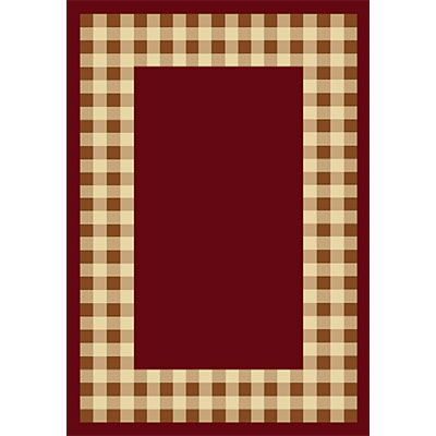 Orian Rugs Fiero 2 x 6 Georgetown Rouge