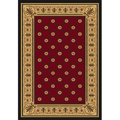 Orian Rugs Firenze Tigris Rouge