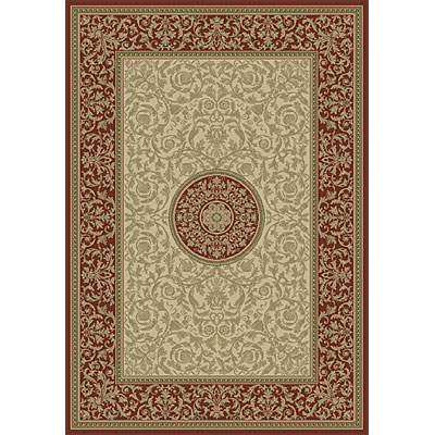 Orian Rugs Intrigue & Interlude 3 x 4 Illumina Rustic Red