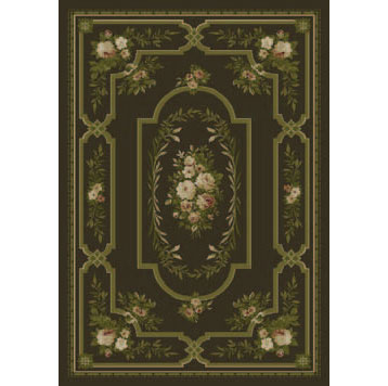 Orian Rugs Magic 5 x 7 Ashley Chocolate