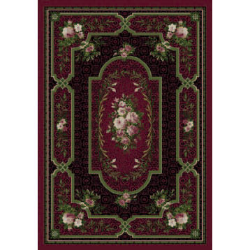 Orian Rugs Magic 5 x 7 Ashley Plum 15722-2