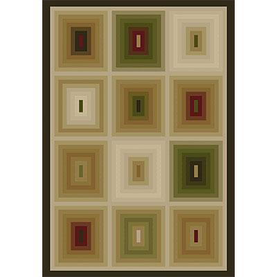 Orian Rugs Magic 8 x 11 Blurry Mink 21229-7