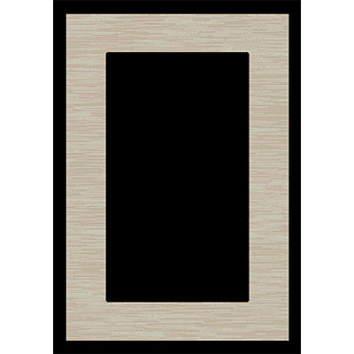 Orian Rugs Magic 2 x 6 Edge Black 20818-4