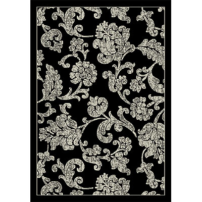 Orian Rugs Magic 2 x 6 Hawaii Black 21079-8