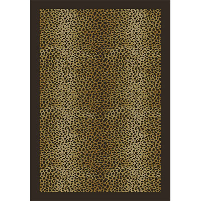 Orian Rugs Magic 2 x 6 Leopard Spots mink 20819-1