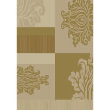 Orian Rugs Magic 2 x 6 Majestic Inspiration Gold 21652-3