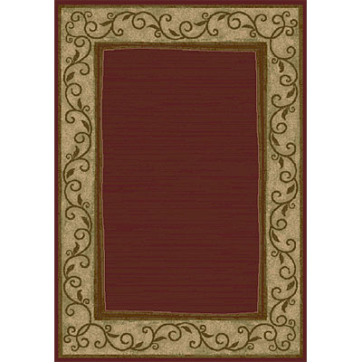 Orian Rugs Magic 5 x 7 Rush Merlot 19176-9