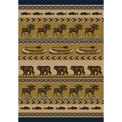 Orian Rugs Magic 2 x 6 Trophy Evening 21037-8