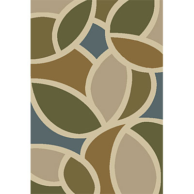 Orian Rugs Shagadelic 2 x 7 runner Bloompetal Spa Blue 21499-4