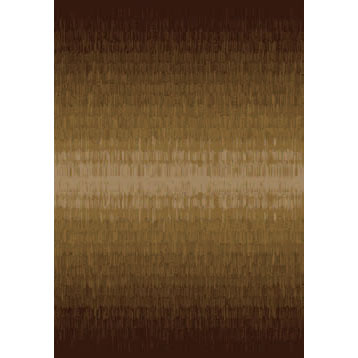 Orian Rugs Shagadelic 4 x 5 Raindance Brown