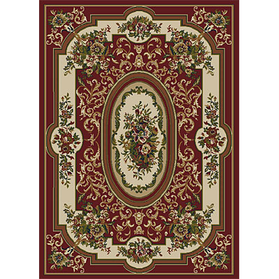 Orian Rugs Weave So Soft 5 x 7 Bordeaux Spanish Red