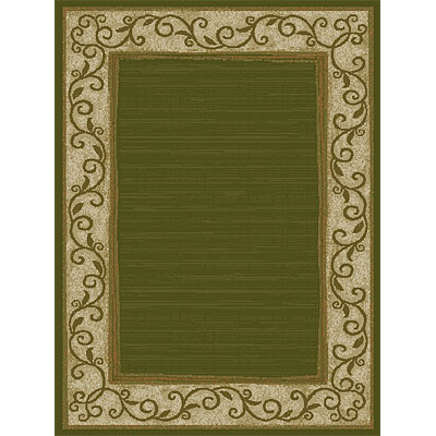 Orian Rugs Weave So Soft 5 x 7 Rush Border Cactus
