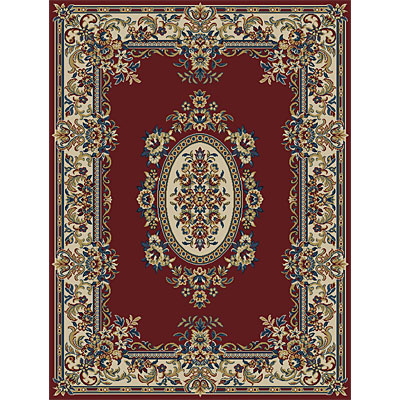 Orian Rugs Weave So Soft 2 x 3 Wynwood Spanish Red 20876-4