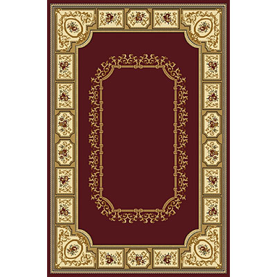 Radici USA Plaza II 2 x 8 Runner Burgundy 1368