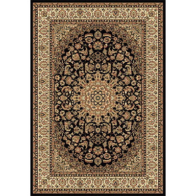 Rug One Imports Crown Jewel - Ardebil 8 x 11 Black 1534-0108