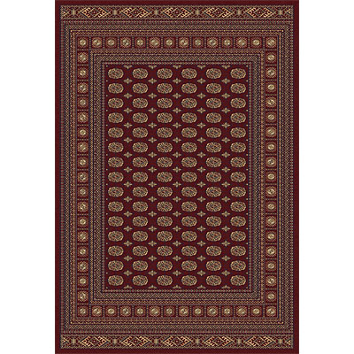 Rug One Imports Crown Jewel - Bokarah 8 x 11 Red 1531-6007