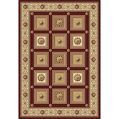 Rug One Imports Crown Jewel - Taj Mahal 8 x 11 Red 1666-6007