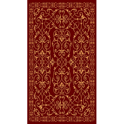 Rug One Imports Matrix 5 x 8 Cherry