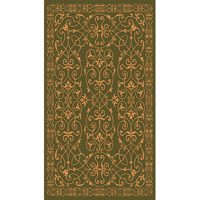 Rug One Imports Matrix 5 x 8 Dark Green