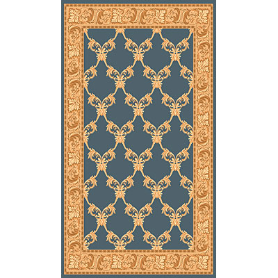 Rug One Imports Merit 8 x 11 Blue