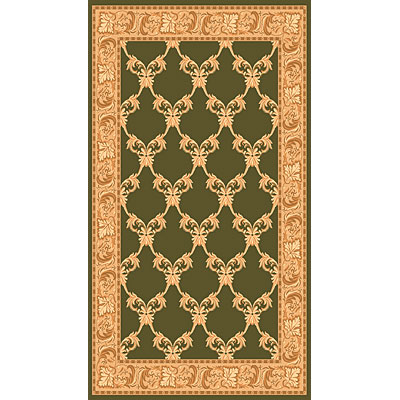 Rug One Imports Merit 8 x 11 Dark Green