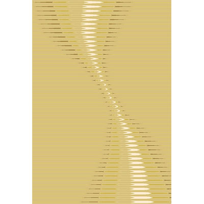 Rug One Imports New Wave 5 x 8 Beige