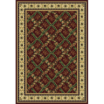 Rug One Imports Royal Bouquet 8 x 11 Claret 42022