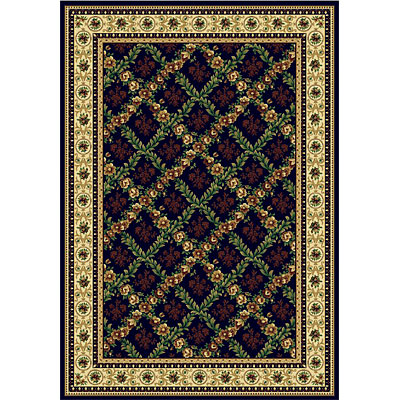 Rug One Imports Royal Bouquet 9 x 13 Midnight 42022