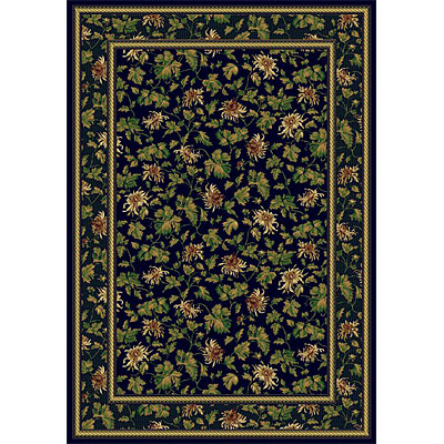 Rug One Imports Royal Elegance 5 x 8 Midnight 42010