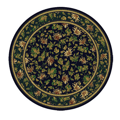 Rug One Imports Royal Elegance 8 Round Midnight 42010